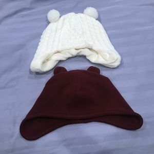 Other - Two Winter Hats for Toddler Boys or Girls - 3T